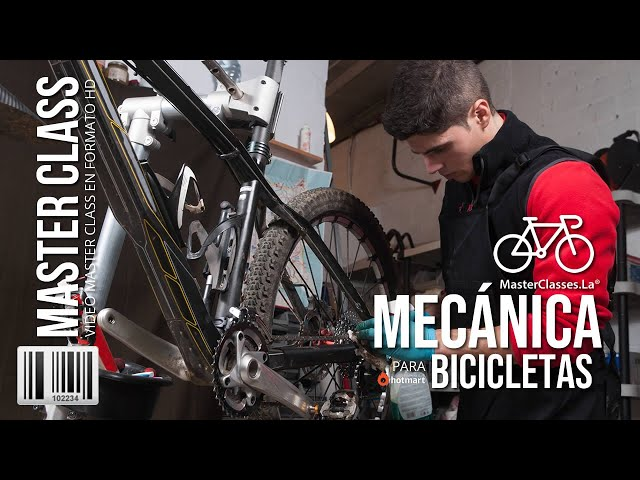 Mecánica para Bicicletas - Aprende a realizar mantenimiento a tu bicicleta.