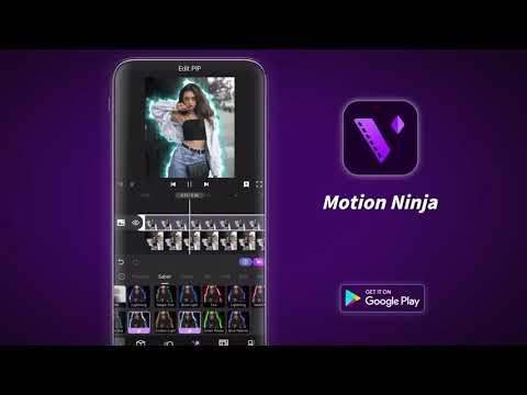 Motion Ninja – Pro Video Effects Maker & Motion Design Editor App (Android & IOS)