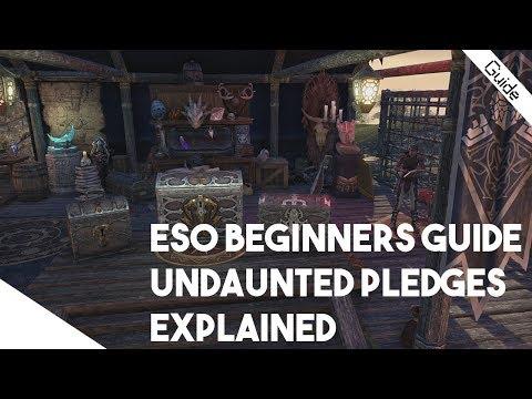ESO Beginner Guide - Undaunted Pledges Explained! Start