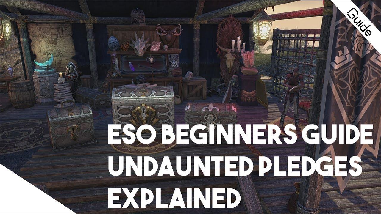 ESO Beginner Guide - Undaunted Pledges Explained! Start Farming Keys For  Monster Sets Early!