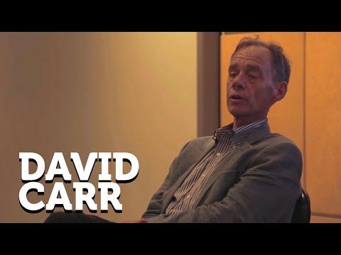 David Carr, jornalista americano -- Abril Insights