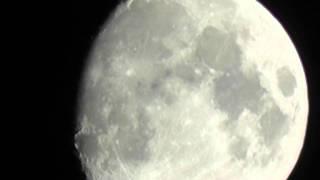 Panasonic HC-V700 Camcorder Full HD 1080/50i Test of the Moon