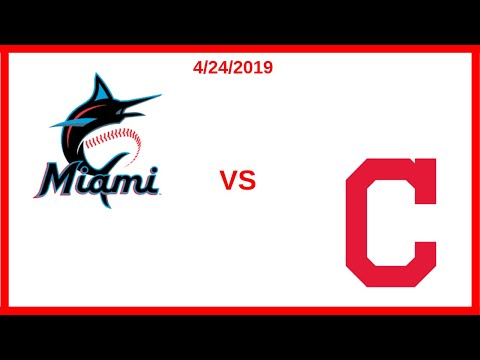 Cleveland Indians Game Recap (4/24/2019) Miami Marlins Conde