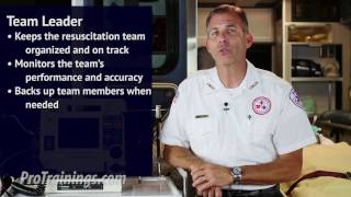 Resuscitation Team Dynamics Overview: Team Roles and Responsibilities