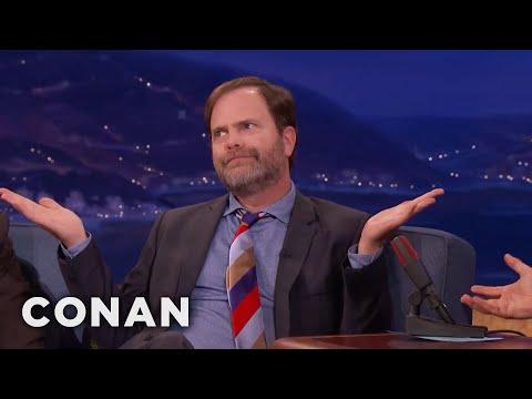 "Rainn Wilson's Message For ""Office"" Fans  - CONAN on TBS"
