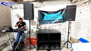 SONIDO METROPOLIS, ESCUCHA SU EQUIPO DE AUDIO!  DIPER SOUND
