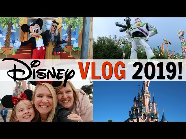 DISNEYLAND PARIS VLOG PART 1 2019!