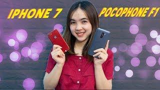 So sánh iPhone 7 và Pocophone F1: 7 triệu mua máy nào ?