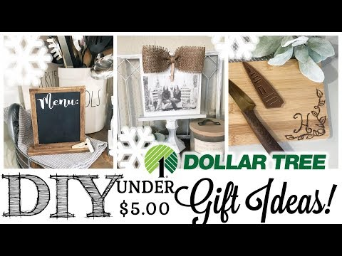 DIY Dollar Tree Gift Ideas Under $5! | 5 of 12 Days of Christmas