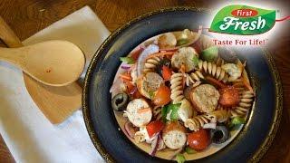 Chicken Sausage Pasta Salad