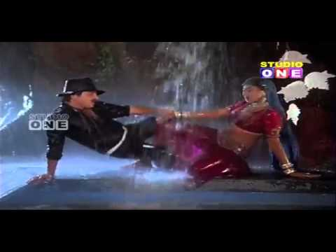 Actress Aamani Hot Navel Masala rain wet saree song thumbnail