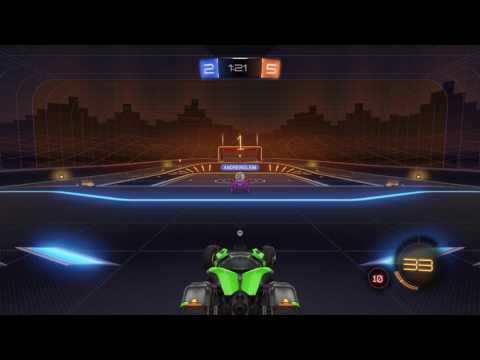 Rocket League RUMBLE!! Cosmic map?