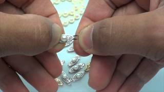 How to use Fish Hook Clasps in Pearl Necklaces