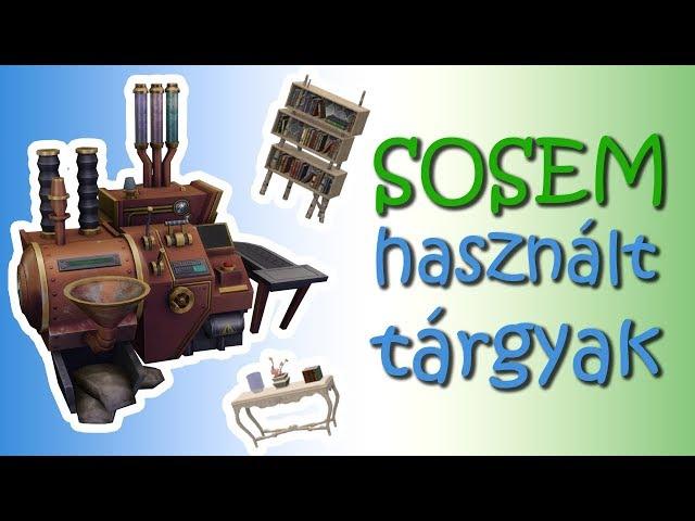 Sosem Használt Tárgyak a Sims 4-ben - SZÜLETÉSNAPI NYEREMÉNYJÁTÉK!