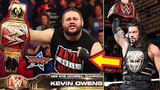 WWE SummerSlam 2018 Predictions!