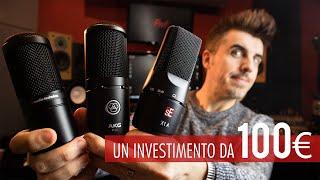 3 microfoni da studio da 100 euro da tenere per sempre | Red Sprecacenere