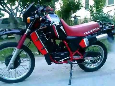 my CAGIVA WSXT ELEFANT 200 is back! (very wild!) - YouTube