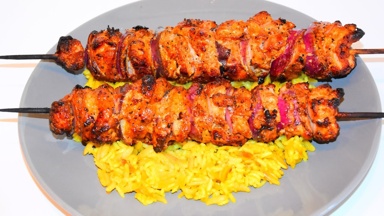 Middle eastern chicken kebabs grilled chicken skewers recipe middle eastern chicken kebabs grilled chicken skewers recipe forumfinder Image collections