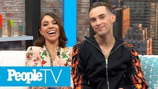(FULL) DWTS Winners Adam Rippon & Jenna Johnson On Double Dating, Tonya Harding & More | PeopleTV