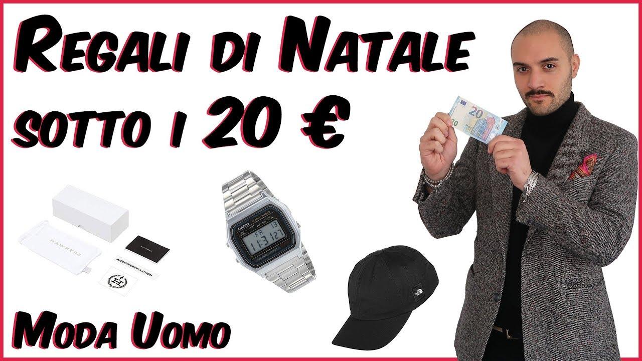 Regali Natale Uomo.Regali Di Natale Sotto I 20 Euro Moda Uomo Che Stile Youtube