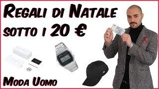 Regali di Natale sotto i 20 euro Moda Uomo | Che Stile!