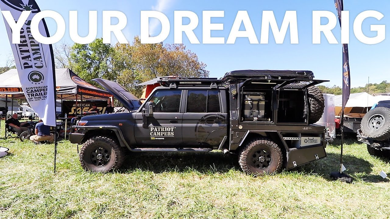 Land Cruiser 79 6x6 >> Ep49 - Patriot Campers LC79 Supertourer at Overland Expo East 2017 - I NEED THIS - YouTube