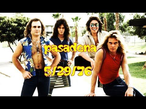 Van Halen: LIVE @ the PASADENA CIVIC AUDITORIUM, CA, May 29,