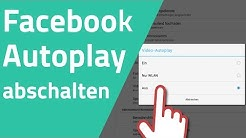 Facebook Video Autoplay abschalten - PC/iOS/Android