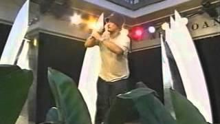 """Edwin Oishi performing """"If I Had No Loot"""" 2004"""