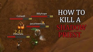 How To Kill a Shadow Priest | World PvP WoW Classic