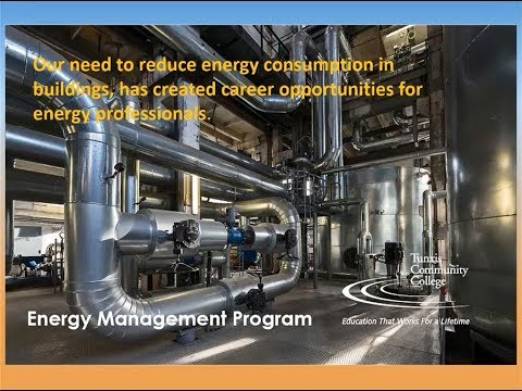 Tunxis Community College Degree In Energy Management Webinar (May 18, 2017)