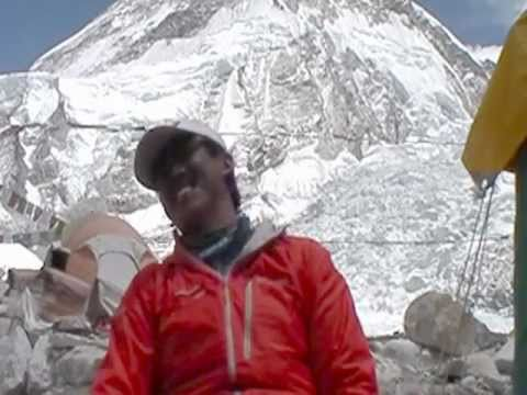 Everest Legend: Ang Dorje - interview at Everest Base Camp