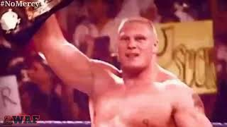 Brock Lesnar Vs The Undertaker WWE Championship No Mercy 2002 Hell In A Cell Match