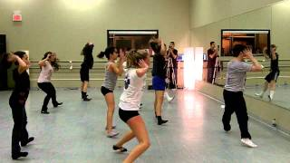 Jess LeProtto Broadway Jazz Master Class