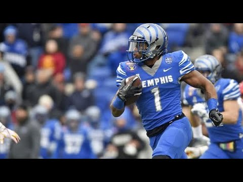 Tony Pollard Highlights 2018-19 Memphis WR | ᴴᴰ