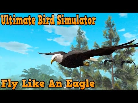 "Ultimate Bird Simulator -""Fly like An Eagle"" - By Gluten Free Games Simulation - iTunes/Android"