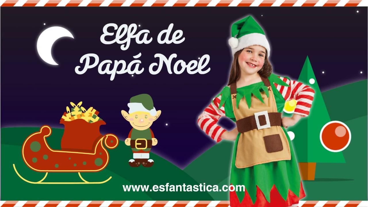 Disfraces de navidad para ni as youtube - Traje de duende para nino ...