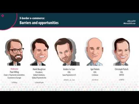 Money 20/20 Europe 2016. Day 3. X-border e-commerce barriers and opportunities