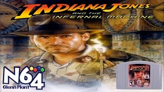 Indiana Jones And The Infernal Machine - Nintendo 64 Review - HD
