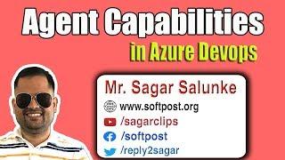 Agent capabilities and demands in Azure devops