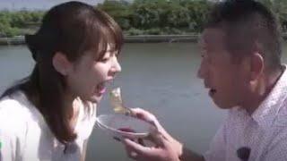 「朝だ! 生です旅サラダ」(テレビ朝日系)で、地方局アナウンサーが緊...