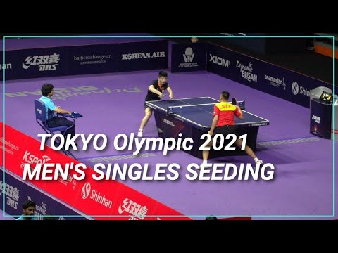 Download Tokyo Olympic 2021 Tabletennis Men's Singles Seeding