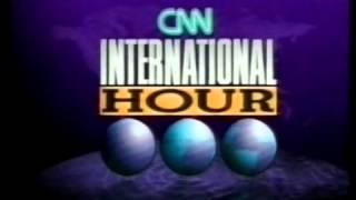 ID's / Intros CNN INTERNATIONAL / WORLD NEWS 90's