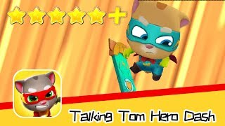 Talking Tom Hero Dash Day24 Walkthrough Gingers Map Recommend index five stars+