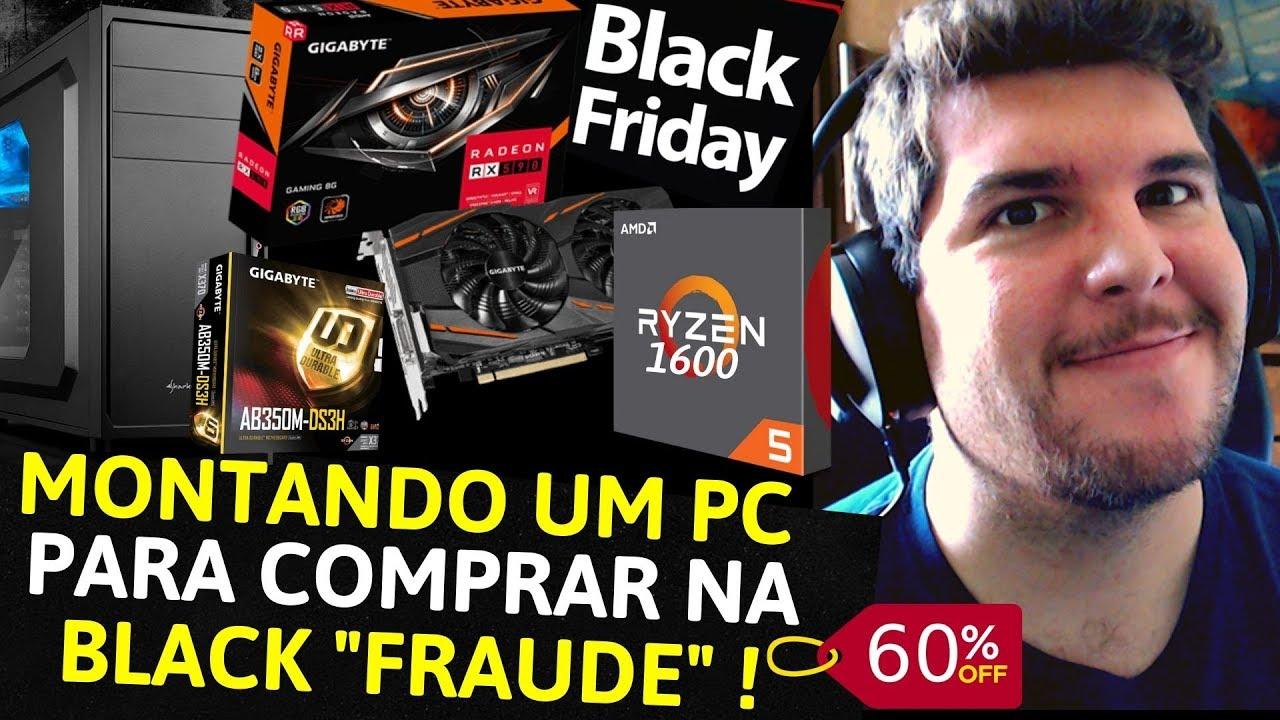MONTEI UM PC GAMER TOP PRA BLACK FRIDAY 2019! FICOU BOM DEMAIS! ORÇAMENTO DE 3000 REAIS PARA MEMBRO!