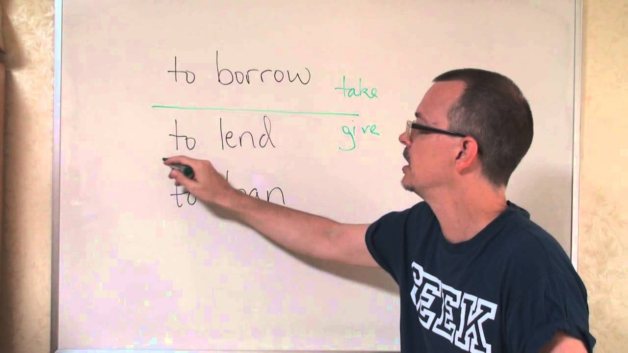 Loan Vs Lend >> Q A What S The Difference Borrow Lend Loan