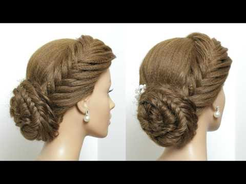 Wedding Updo With Braids Hairstyles For Prom