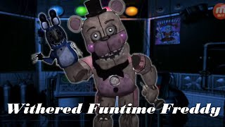 [FNAF | Speed Edit] Making Withered Funtime Freddy