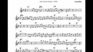 Miles Davis solo:  Now