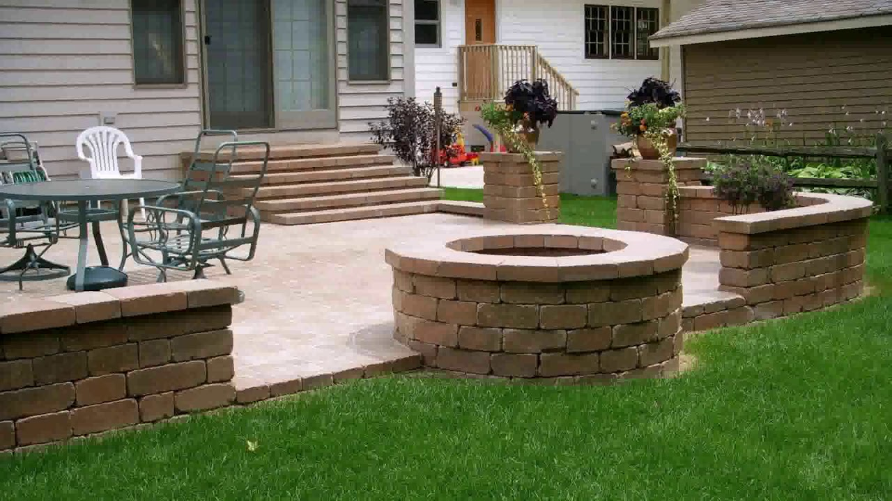 Low Cost Stone Patio Ideas